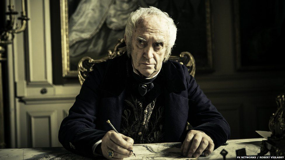 Taboo also stars several Game Of Thrones actors, including the High Sparrow, played by Jonathan Pryce