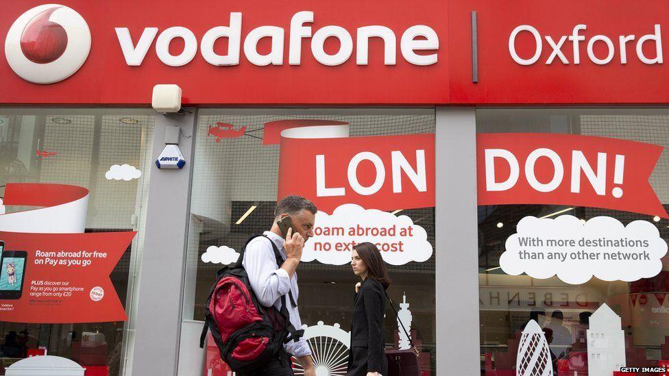 Vodafone's Oxford Street branch