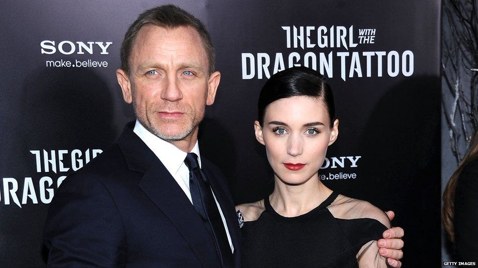 Daniel Craig and Rooney Mara