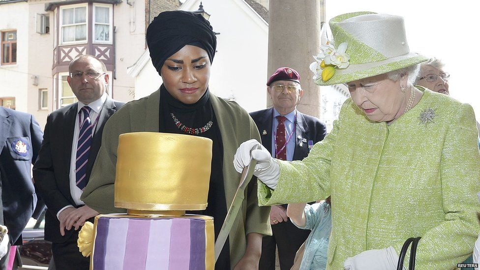 The Queen and Nadiya