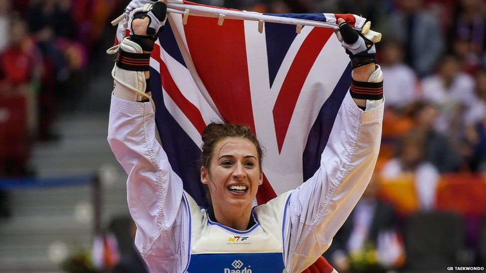 Taekwondo world champion Bianca Walkden on kicking like a