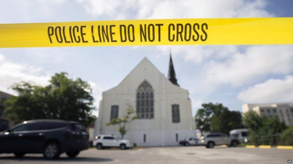 The Emanuel AME Church, in Charleston
