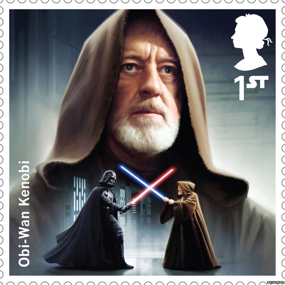 Obi-Wan Kenobi stamp