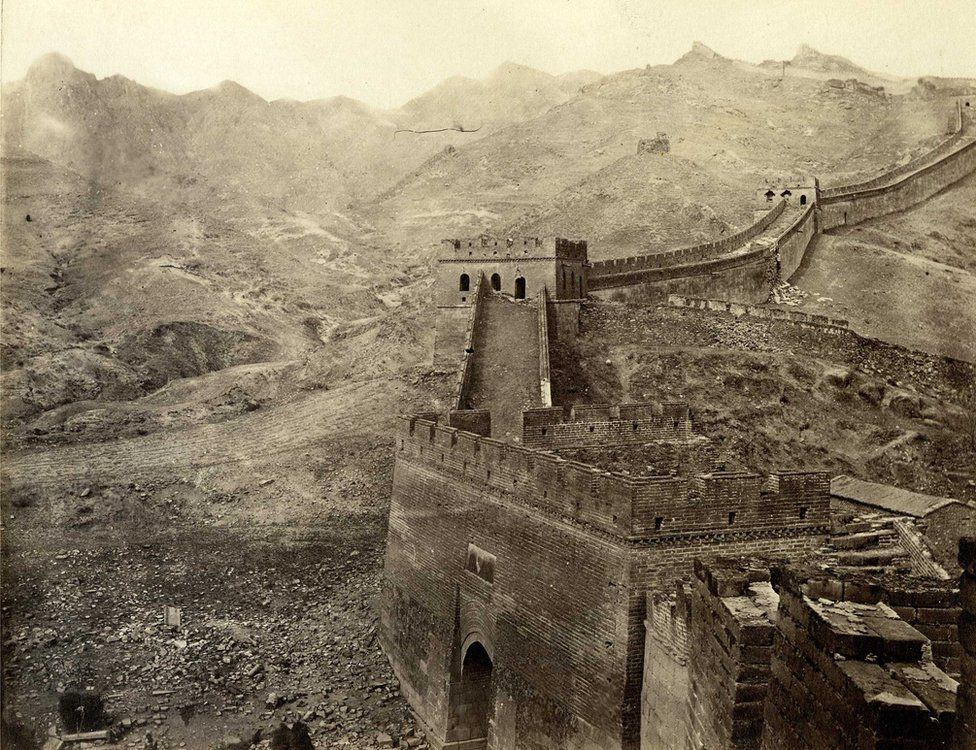 Thomas Child. No. 142. Great Wall of China. 1870s. Albumen silver print.