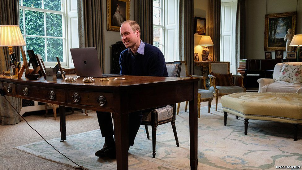 Prince William speaks with Lady Gaga on mental health