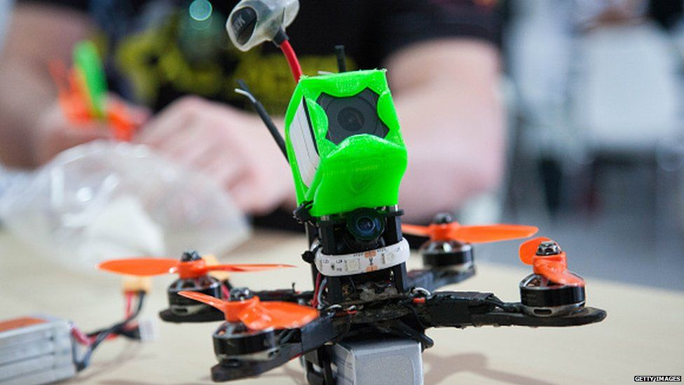 Drone racing has been compared to that of competitive video game playing.