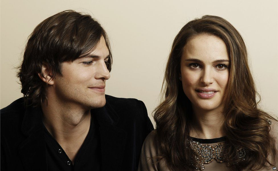 Ashton Kutcher and Natalie Portman