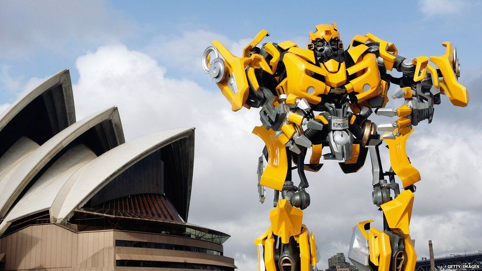 Bumblebee from the Transformers franchise