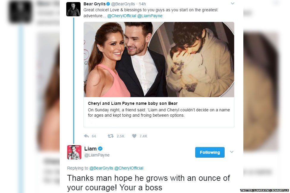 Liam Payne & Cheryl Cole's Baby Boy's Name May Have Been Revealed!