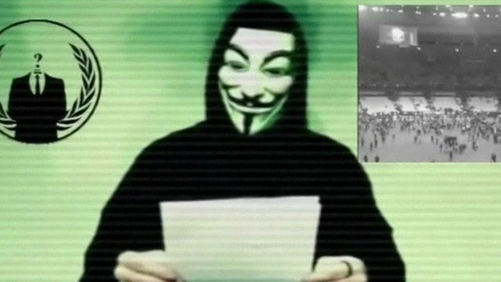Anonymous 'declares war' on Islamic State