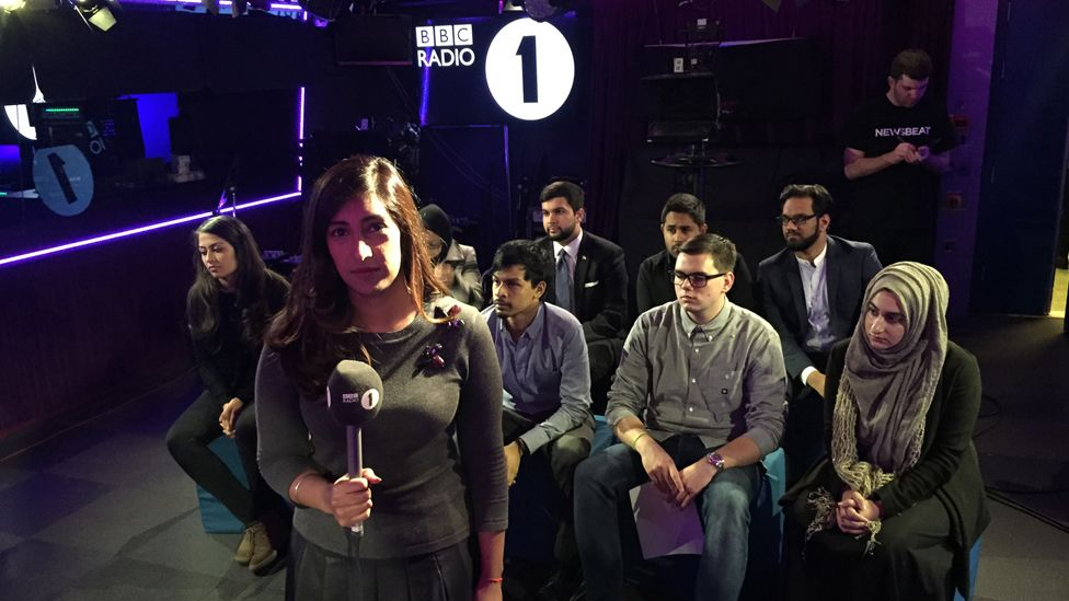 Young British and Radicalised - Tina Daheley hosts a live Newsbeat debate following the attacks in Paris