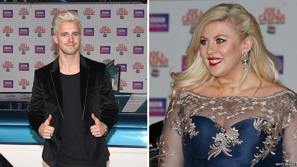 Marcus Butler and Louise Pentland