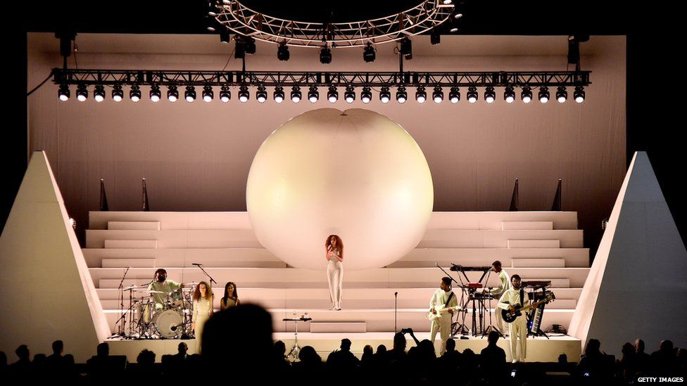 Solange Knowles performs onstage during Orion's Rise: A Special Performance