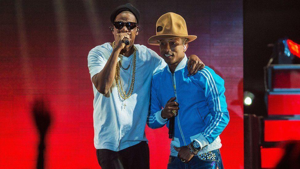 Jay Z and Pharrell Williams