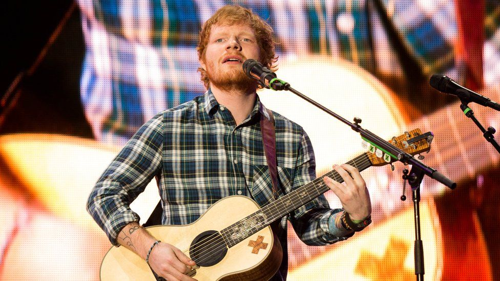 Ed Sheeran releases two new tracks to mark his return to