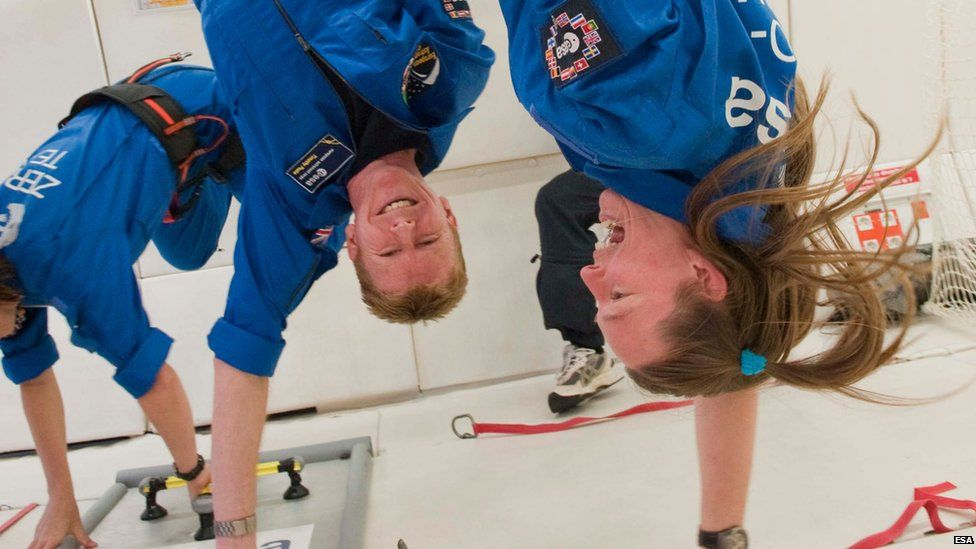 astronauts in space weightless - photo #24