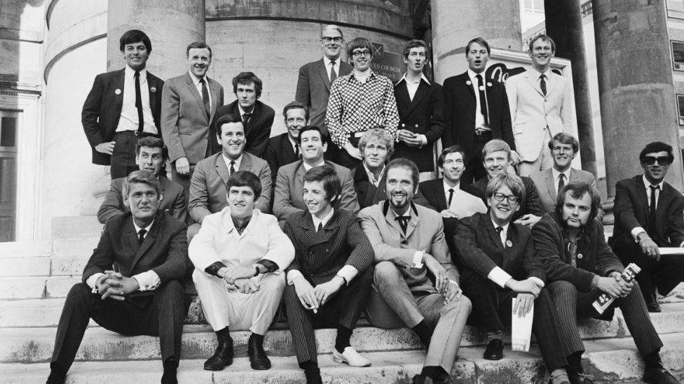 Radio 1 DJ's in 1967