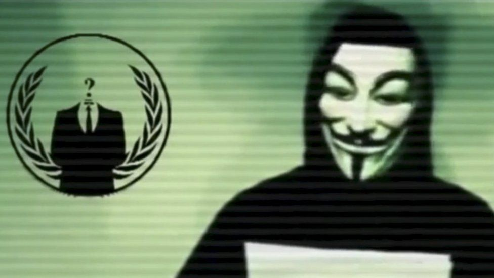 Anonymous explain how to fight IS online