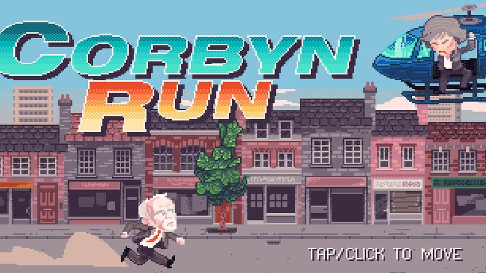 Screengrab from Corbyn run