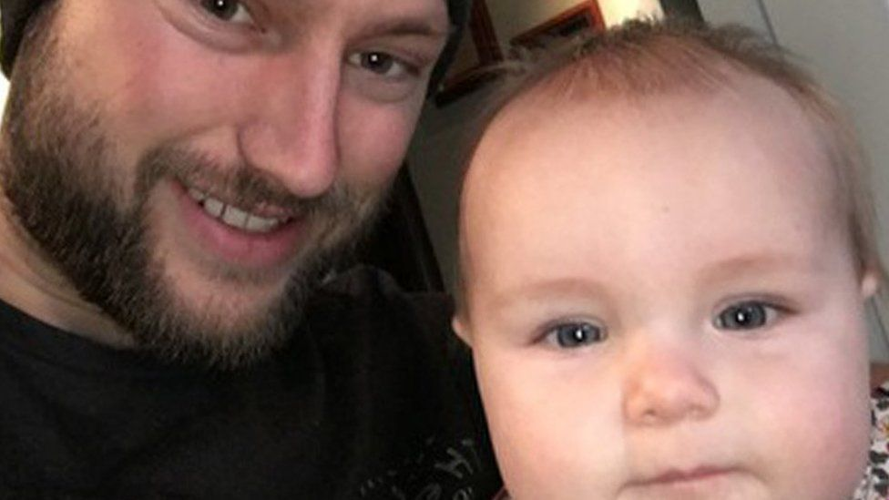 This is a selfie Ben and his daughter Phoebe.