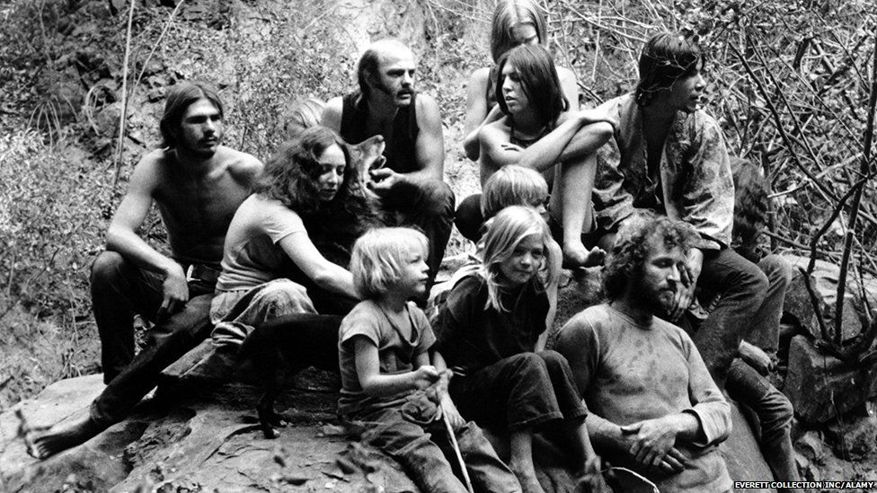 Members of the Manson family