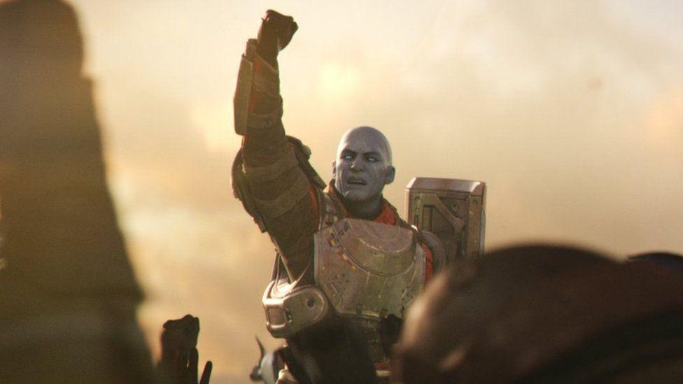 Destiny 2 Gameplay footage
