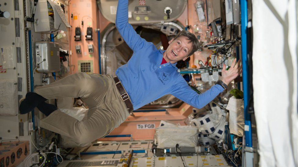 Astronaut Peggy Whitson breaks new space record