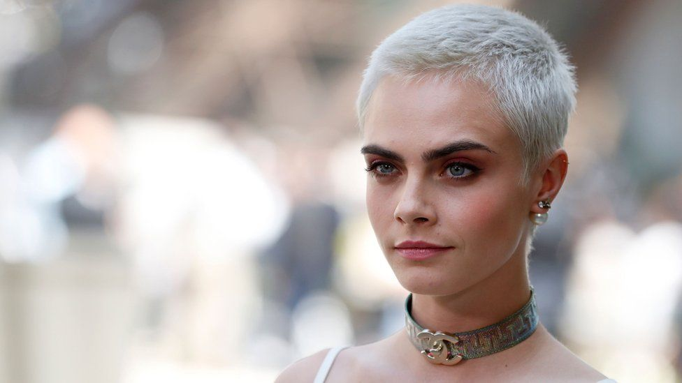 ac11afec77c6 Cara Delevingne Jimmy Choo advert called  sexist  - BBC Newsbeat