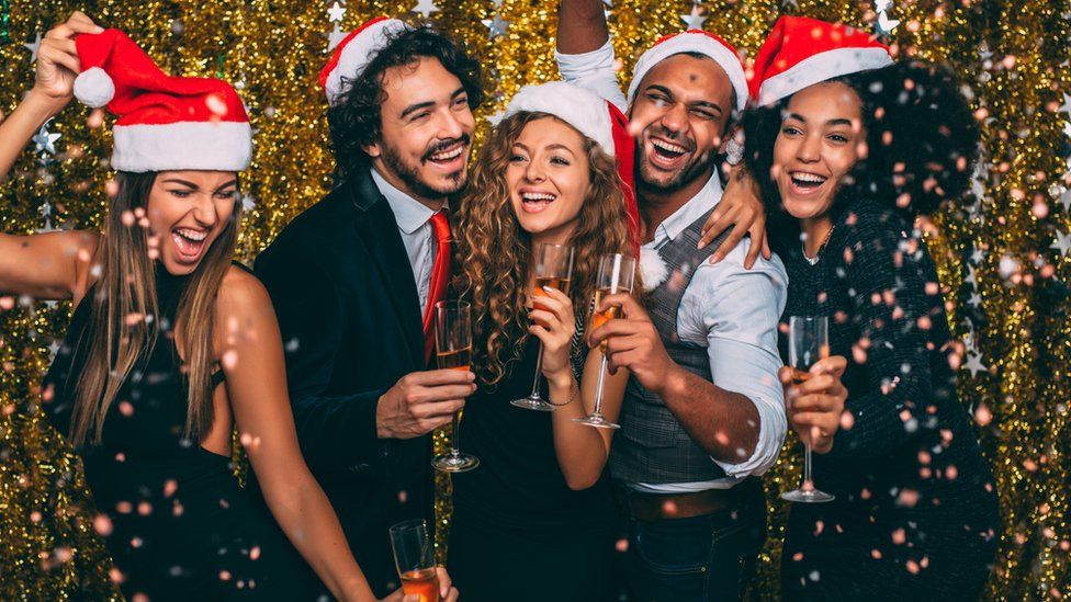the five personalities at every christmas party bbc newsbeat
