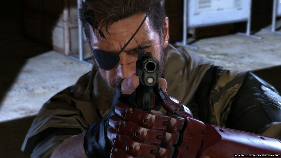 Screenshot form Metal Gear Solid 5