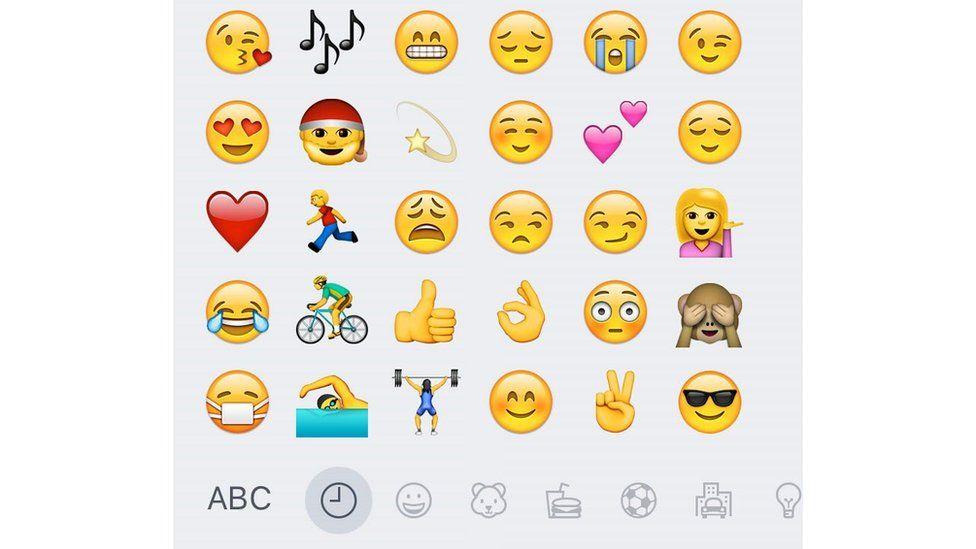 Selection of emojis