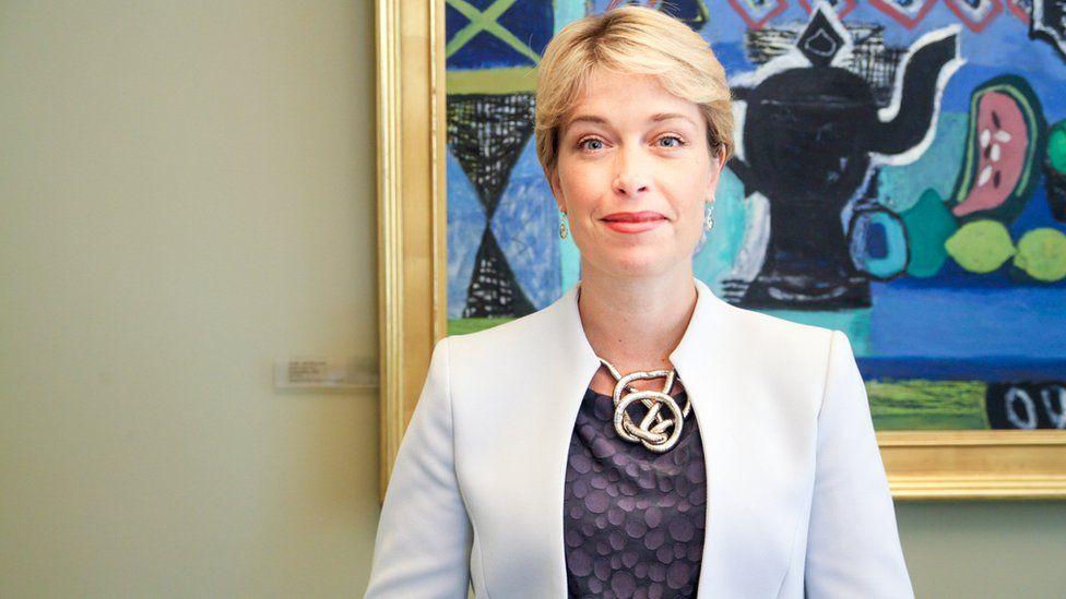 The Minister Annika Strandhäll,