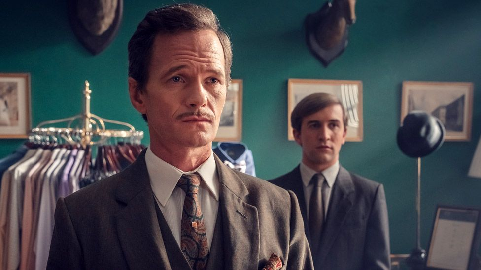 Neil Patrick Harris (left) and Callum Scott Howells in It's A Sin
