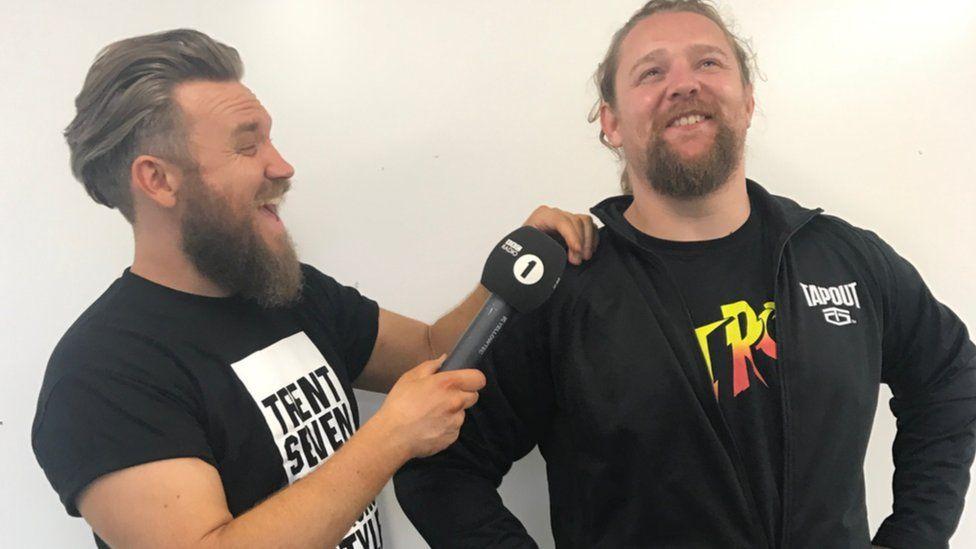 Trent Seven interviews Wolfgang