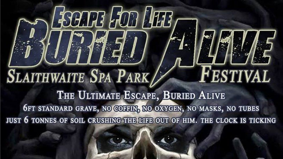 A poster for the Escape for Life festival