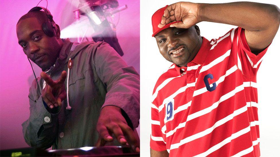 Seani B and DJ Ace