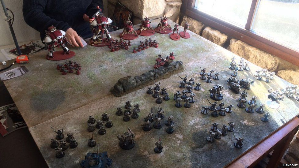 A game of Warhammer