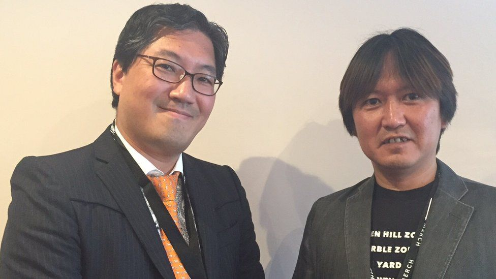 Yuji Naka was lead programmer of the original Sonic and Takeshi Iizuka is currently head of the Sonic team