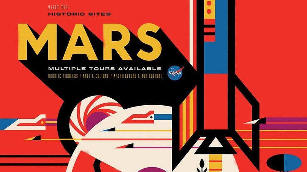 These space tourism posters will make you want to visit for Outer space poster design