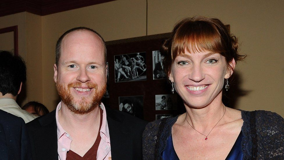 Joss Whedon and Kai Cole