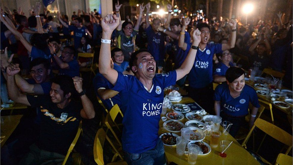 Leicester fans have seen their numbers grow