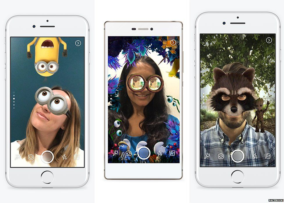 Minion Camera App : Facebook launches snapchat style stories with new in app camera