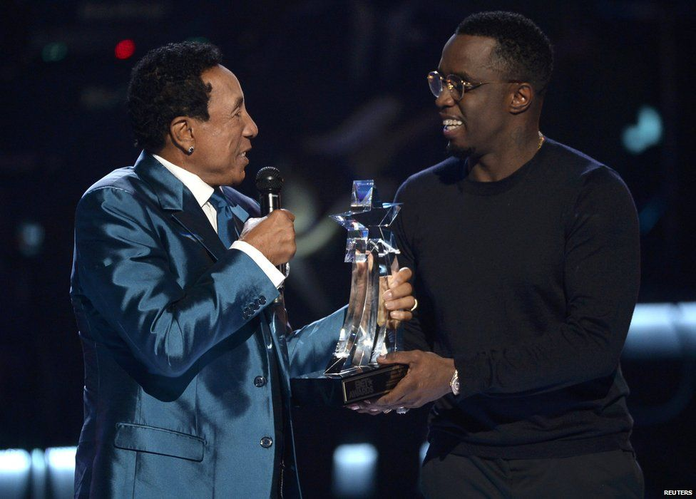Smokey Robinson and P Diddy