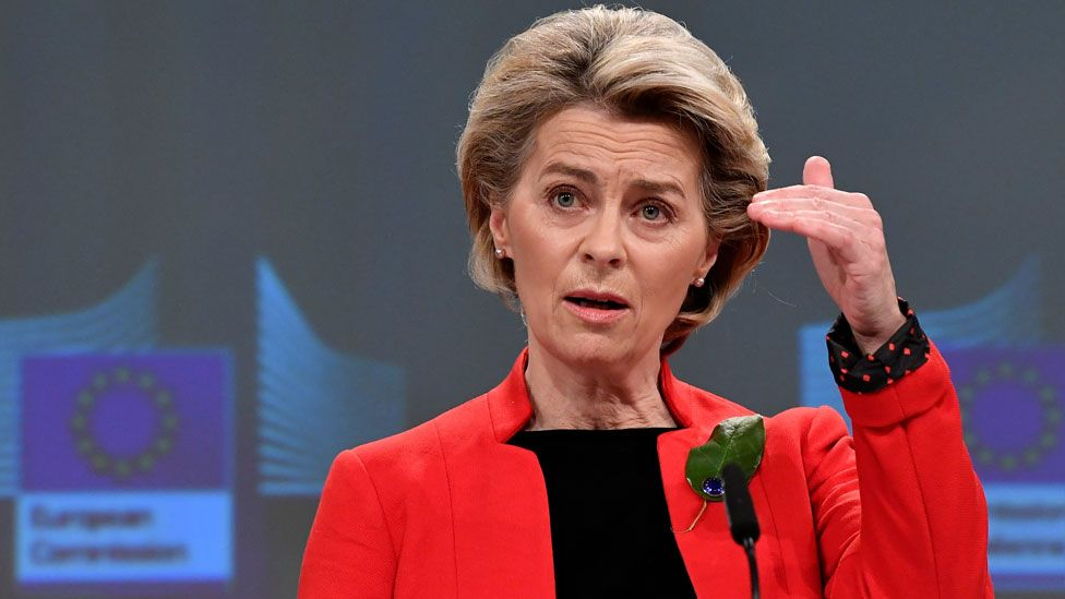 European Commission President von der Leyen
