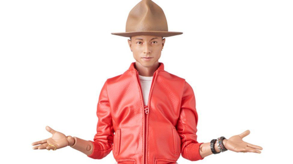 0ee6efb36a359 There's now a Pharrell doll (Vivienne Westwood ranger hat included ...