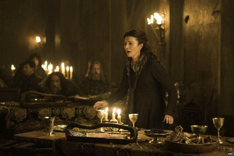 Michelle Fairly as Catelyn Stark