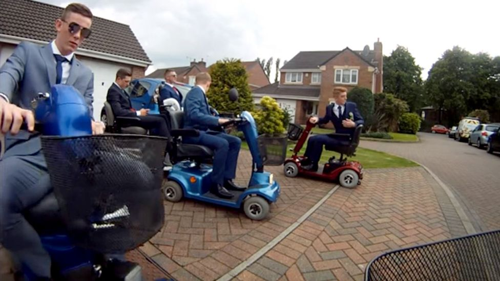 Scooters prom