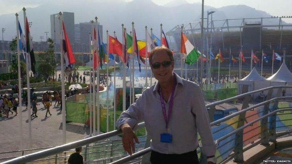 Sports promoter Jon Smith