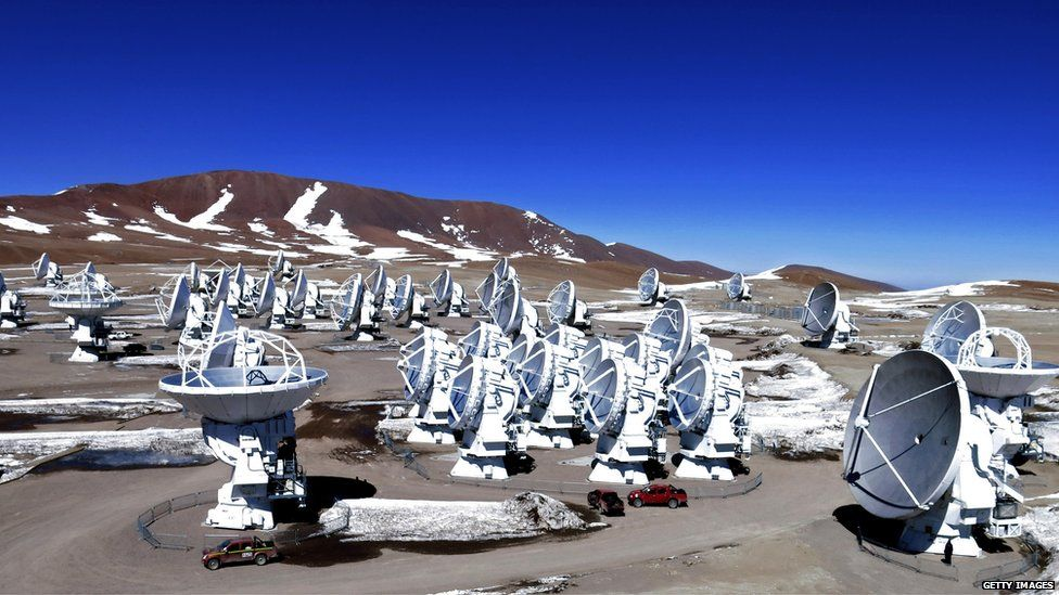 The ALMA observatory in Chile