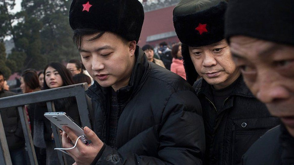 What are we googling about China?